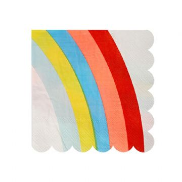 Rainbow Napkins - pack of 20